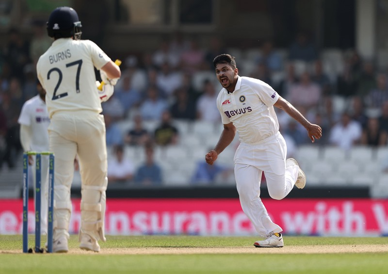 India thrash England by 157 runs in Oval Test