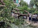 Relief operation post Cyclone Tauktae in Mumbai