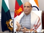 Rajnath Singh addresses foundation day of Hamdard Institute of Medical Science