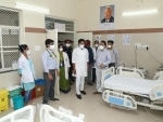 Union Minister G Kishan Reddy visits Covid ward in Hyderabad