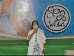 Mamata addresses media after scripting landslide victory in Bengal