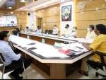 Jharkhand CM Hemant Soren attending Covid meeting with PM Modi