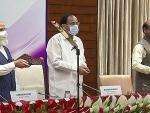 PM Modi, Venkaiah Naidu, Om Birla launch Sansad TV