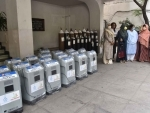 Hyderabad: Oxygen Concentrators imported from UK by Access Foundation team