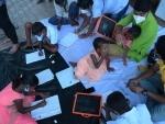 Agartala: Social activists teaching street children