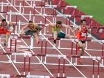 Olympics: 110 m Hurdles in Tokyo