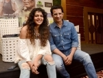 Sharman Joshi-Bidita Bag promote Fauji Calling in Kolkata