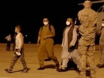 Madrid: Afghans walk out of a Spanish military plane