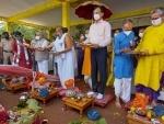 'Jal yatra, Jal abhishek' being performed in Ahmedabad