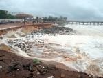 Kerala: Battering waves damage Valiyathura pier
