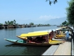 A deserted look of famous Dal Lake in Srinagar