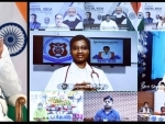 PM Modi interacts with beneficiaries of Digital India