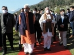 JK Governor inaugurates tulip festival in Srinagar