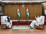 Assam CM Himanta Biswa Sarma meets Vice-President M Venkaiah Naidu in New Delhi