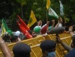 Farmers protest at Jantar Mantar in Delhi