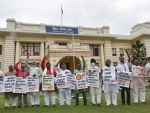 RJD protests in Bihar Assembly