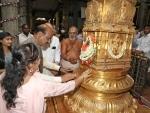 LS Speaker Om Birla, family members offer prayers at Tirupati temple