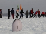 Snow Rugby in Kashmir
