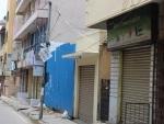 Anti-Covid lockdown in Bengaluru