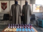 Drug peddlers arrested by in Kashmir