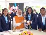 PM Modi meets PV Sindhu in Delhi