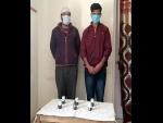 Two held in J&K's Kupwara with six hand grenades