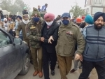 DDC member and farmers' leader arrested during protest rally