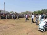 Mamata Banerjee addresses election rally at Balorampur in Purulia