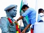 Colonel Santosh Babu statue unveiled