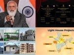 PM Modi addresses at the foundation stone laying ceremony of Light House projects across six states