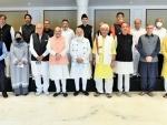 PM Modi, Amit Shah meet leaders of J&K political parties