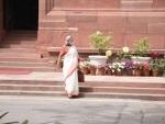 Jaya Bachchan in Parliament