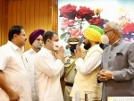 Congress Dalit leader Charanjit Singh Channi takes oath as Punjab CM