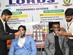 Hyderabad: Engineering students showcase dual sse oxygen concentrator developed by them