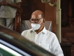 NCP chief Sharad Pawar in Parliament