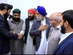 Hindu, Sikh community meet Kabul Mayor Maulvi Hamdullah Nomani
