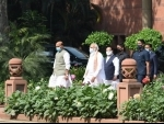PM Modi, other leaders attend BJP Parliamentary Party meeting