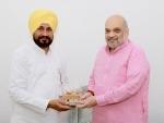 Punjab CM Channi meets Amit Shah