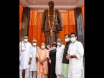 Yogi Adityanath offer tributes to Shyama Prasad Mukherjee on his death anniversary