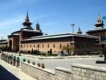 Jama Masjid in Srinagar remains deserted