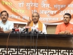 VHP Jt General Secretary Surendra Jain addresses press conference about atrocities on Hindus in Bangladesh