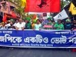 Rally held in Kolkata urging people to reject BJP