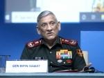 Chief of Defence Staff General Bipin Rawat addressing Shanghai Cooperation Organisation webinar