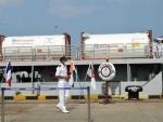 Oxygen tanks reach Mumbai