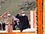 Ladakh Lt Guv pays tribute on Kargis Diwas