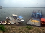 View of deserted Tilayah Dam in Jharkhand amid Covid19