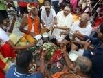 Sravan in Prayagraj: Hindu devotees celebrate