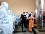 Yogi Adityanath inaugurates Atal Bihari Vajpayee Covid Hospital in Lucknow