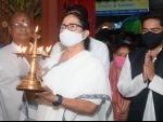 Bhawanipur bypolls: Mamata Banerjee, Abhishek Banerjee offer prayer in south Kolkata temple