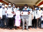 Doctors demonstrate against brutal attack on onduty doctor